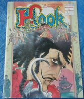 Marvel Comics Hook The Official Movie Adaptation First Printing Magazine 1991