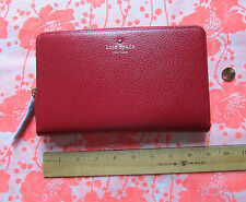 Kate Spade New York Wallet Travel Grand Street Pillbox Red NEW $248