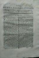 1795 NUOVO GIORNALE D'ITALIA COLTIVAZIONE DEI CILIEGI, COLTURA DEL MANDORLO