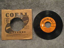 """45 RPM 7"""" Record Lawrence Welk Champagne Time & Around The World Coral 9-61741"""