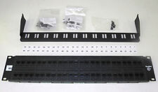 Complete New ADC Krone 6653 1 679-48 48-Port CAT-6 Patch Panel W/Tie Bar, Etc UP