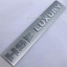 NEW LAND ROVER LR4 HSE LUXURY TAILGATE BADGE EMBLEM PLATE~GENUINE LR PART