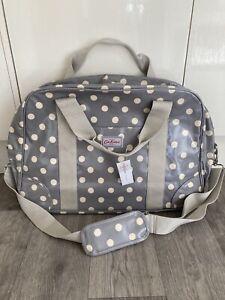 Cath Kidston Spot Travel Bag large Overnight Crossbody Handbag BNWT