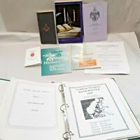Vintage a bridge to light book freemasonry Masonic hand books literature sabbar