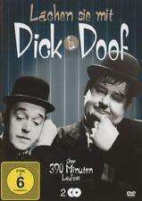 STAN LAUREL/OLIVER HARDY - LACHEN SIE MIT DICK UND DOOF  2 DVD NEU