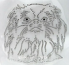 Hotfix Bügelbild Strass Hund Dog Pekinese Hundezucht 130301 Karostonebox