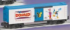 American Flyer 6-48351 Donald Duck & Daisy Disney Boxcar unique art each side S