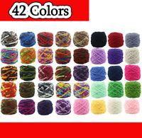 42 Colors Skeins Thick Yarn Ball Crochet Chenille Soft Milk Velvet Knitting Wool