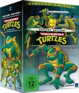 Teenage Mutant Ninja Turtles -Seasons 1-7 Complete Original TV Series NEW R2 DVD