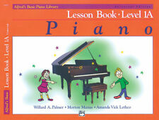 Alfred's Basic Piano Library Lesson Book Level 1A with CD