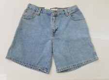 Vintage Levi's 550 Relaxed High Waist Mom Blue Jean Shorts Women's Size 10 J2