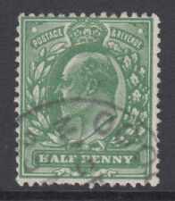 SG 271 1/2d Deep Bright Green M3 (7) in VFU with small part dated CDS cancel.