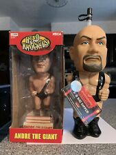 Andre The Giant NECA WWF Bobble Head And Stone Cold Austin 3-D Big Sipper?