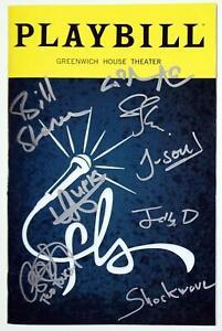 Lin-Manuel Miranda + Off-Broadway Cast Signed FREESTYLE LOVE SUPREME Playbill