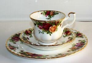 Royal Albert Old Country Roses Kaffeegedeck 3-teilig