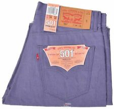 Levi's 501 Original Shrink-to-Fit Jeans New Viking Genuine 100%