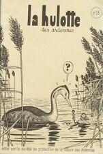 La hulotte des Ardennes n°18 -1974 -La loutre-La foulque-La poule 4 EME EDITION