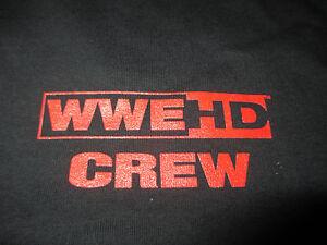 Rare 2011 WWE HD CREW Fall Tour (XL) T-Shirt John Cena Randy Orton