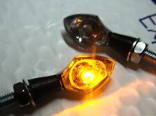 2x LED TURNSIGNAL NANO chrom KAWASAKI Vulcan VN1500 VN900 KLE 500 KLR KX500
