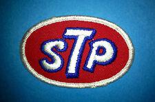 Rare Vintage 1970's STP Oil NASCAR NHRA Sponsor Hat Jacket Patch Richard Petty