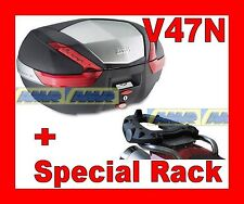 BMW R 1150 GS 2000-2003 KOFFER BAULETTO V47N COVER ALUMINIUM + CHASSIS SR694