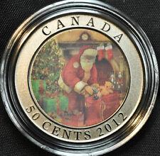 2012 Canada 50 cent Lenticular  Coin - Santa's Magical Visit