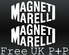 Magneti Marelli sticker decals x2 for Ducati fairing 1199 1098 999 998 996 749