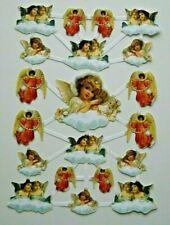 Poesiebild Poesiebilder Oblaten Glanzbilder Engel Retro Nostalgie120