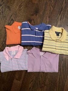 Brooks Brothers Short Sleeve Polo Lot Of 5