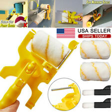Multifunctional Clean-Cut Paint Edger Roller Brush Safe Tool for Wall Ceiling Us