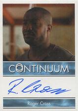 Continuum Season 3 Autograph Card Roger Cross as Travis Verta
