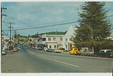 SUTTER CREEK, CA MAIN STREET 1969  Hwy 49 Postcard