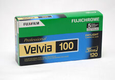 Fuji Velvia 100 120mm Pack Of Five