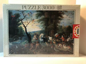 RARE Educa 3000 Puzzle NOAH'S ARK by Jan Brueghel II L'arche de Noe Sealed 1997