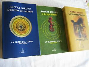 ROBERT JORDAN LOTTO DI 3 ROMANZI a scelta LA RUOTA DEL TEMPO FANUCCI