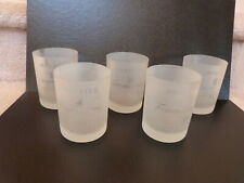 5 Frosted Tanqueray English Gin Highball Barware Cocktail Glasses 4