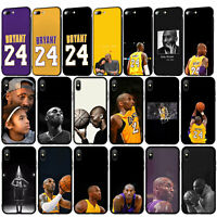 Kobe Bryant 24 basketball 8 Case for iPhone 11 Pro XR X XS Max 8 7 6 6s Plus 5S
