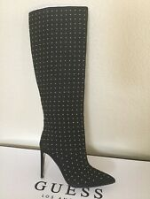 Guess Womens Lilla2 Suede Pointed Toe Over Knee Fashion Boots Size 6