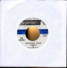 RICK and THE RIC-A-SHAYS Running Bear/The Drag scarce 1963 surfy guitar beat 7""