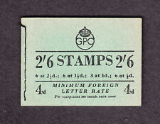 1952 ( NOV ) 2/6d  BOOKLET SGBD20 NICE CONDITION