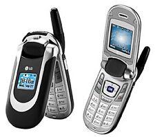 Lg Ax390 - Gray (Alltel) Flip Cellular Phone