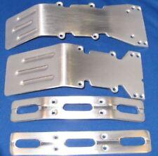 T-Maxx E-Maxx Brushed Aluminum skid plates  bumper set.