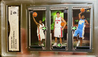 2003 TOPPS MATRIX LEBRON JAMES Rookie CARMELO Anthony Mint 9 Lakers RC HOF