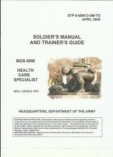 68W Medical Specialist, Medic on pdf,  plus Electronic Library