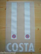 FC Bayern München orginal Flock Costa 11 Home 2017/18 Gr.128 bis 164 für Kids