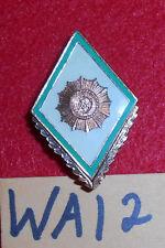 WA12 East German police school graduation badge