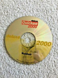 QUICKEN 2000 DELUXE MAC • FOR MACINTOSH OS 8 & OS 9