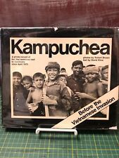 Kampuchea by Robert Brown, First American Visit to Cambodia, Signed