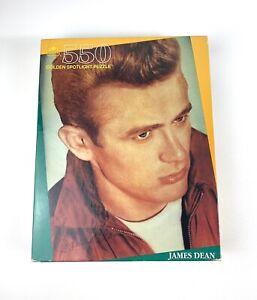 Vintage James Dean Jigsaw Puzzle 550 Pieces 1991 Sealed Golden Spotlight