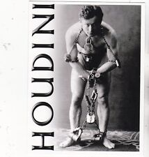 "*Postcard-""The Great HOUDINI in Chains/Locks"" /World Famous Magician/ (V-5)"